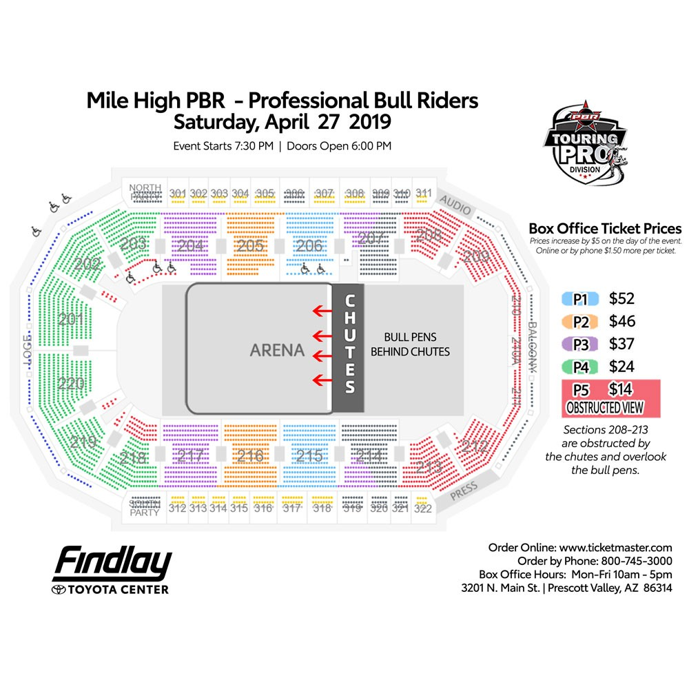 Events Mile High Pbr Professional Bull Riders Findlay