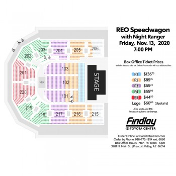 REO Speedwagon w/ Special Guest Night Ranger