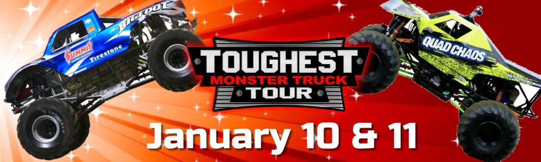 THE TOUGHEST MONSTER TRUCK TOUR IS RETURNING TO THE FINDLAY TOYOTA CENTER IN 2020!