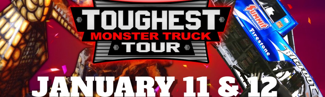 Toughest Monster Truck Tour Logo