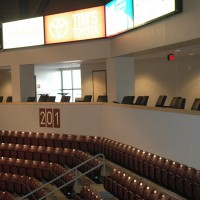 Loge seating